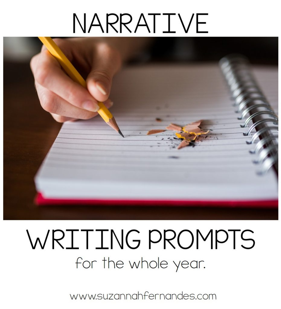 narrative-writing-prompts-for-whole-year-3rd grade-7th-grade. www.suzannahfernandes.com