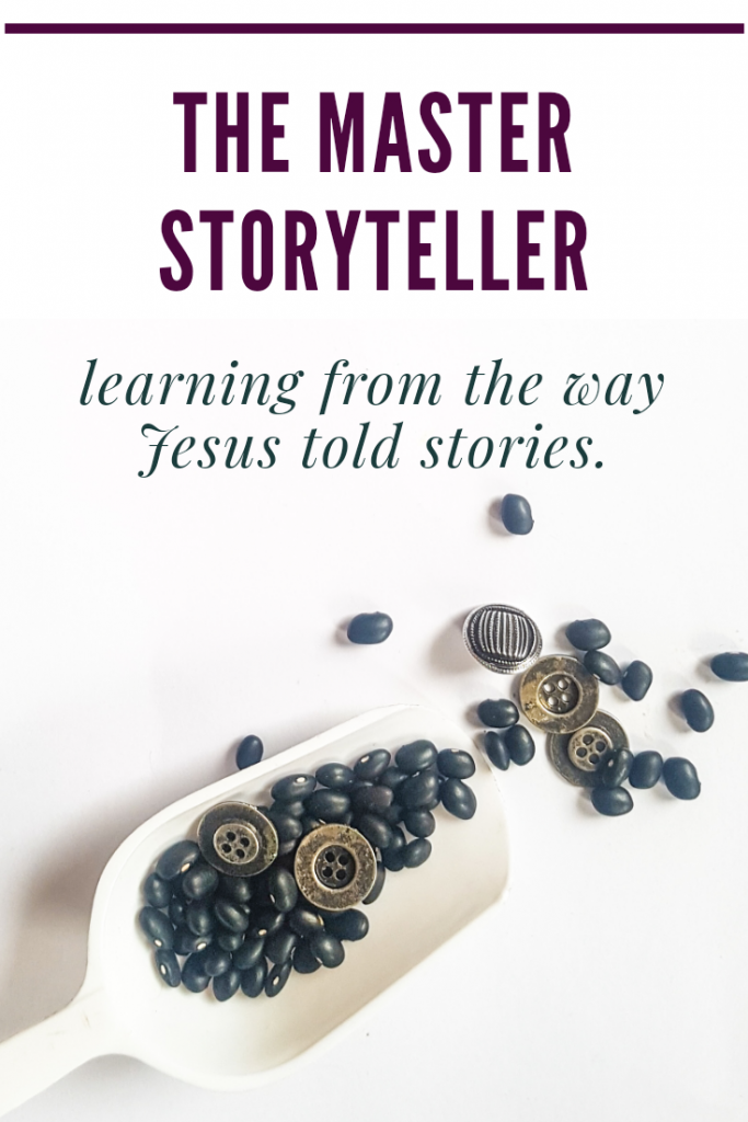 The Master Storyteller. Matthew 13:44