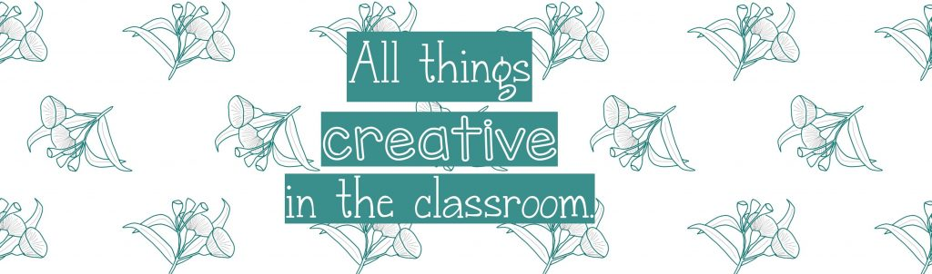 all things creative in the classroom (c) copyright Gumnuts & Grace Studios